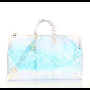 Louis Vuitton x Virgil Abloh keepall 50 prism